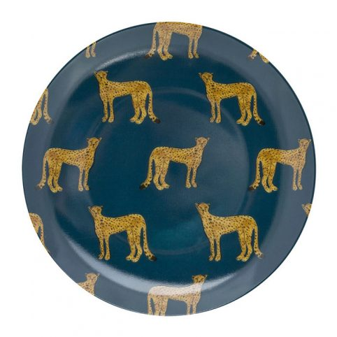 Fabienne Chapot Cheetah Petit Four Plate - Buy Online UK