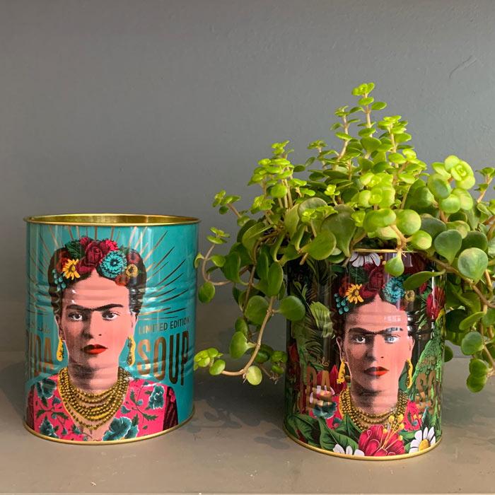 Set of 2 Frida Kahlo Tins - Buy Online UK