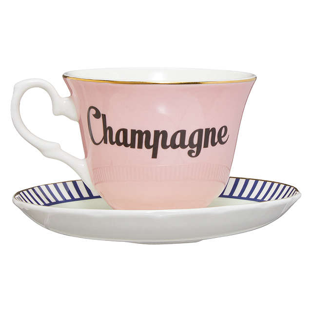 Yvonne Ellen Champagne Cup and Suacer - Online UK