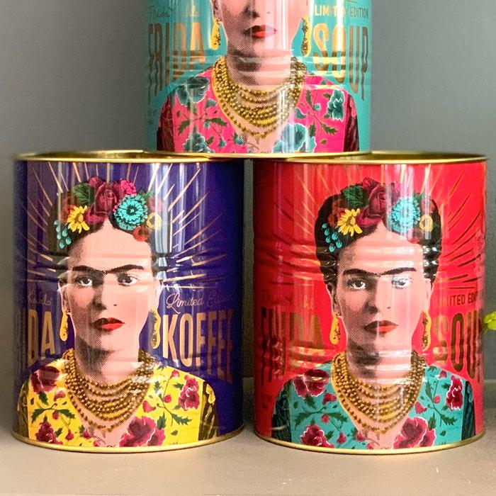 Frida Kahlo Metal Tins - Buy Online UK