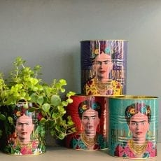 Set Of Two Frida Kahlo Tins - Buy Online UK