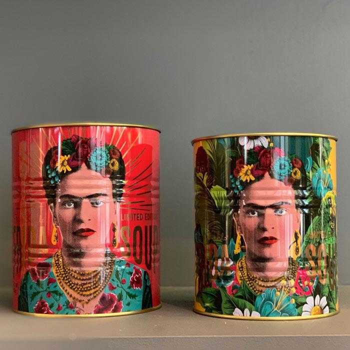 Frida Kahlo Tins