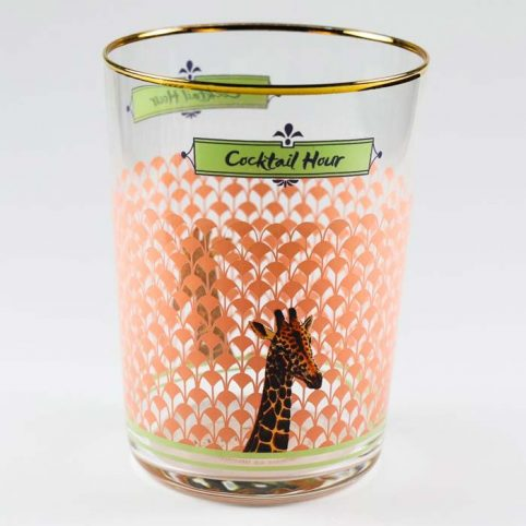 Cocktail Hour Giraffe Glass Buy Online UK