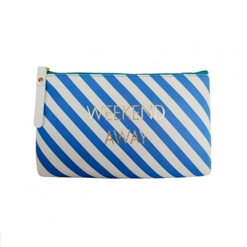 Striped Makeup Bag From Bombay Duck - Buy Online UK