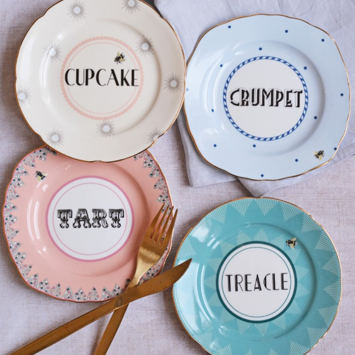 Yvonne Ellen cake plates - set of 4 available to buy online with free P&P