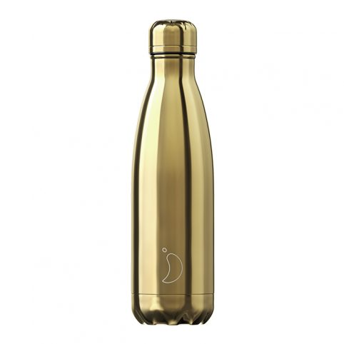 Chillys water bottle gold free UK delivery on all orders over £20