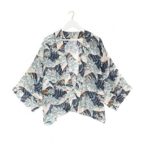 One Hundred Stars Waves Kimono