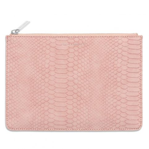 Estella Bartlett Blush Snaneskin Clutch - Buy Online UK