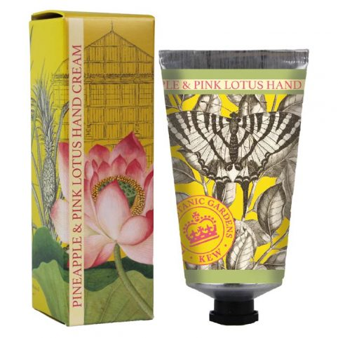 Kew Pineapple and Pink Lotus Hand Cream - Buy Online UK