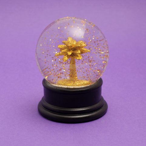 Palm Tree Snow Globe Temerity Jones - Buy Online UK