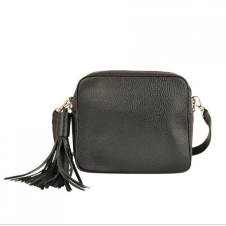 Black Cross Body Bag With Detachable Strap - Buy Online UK