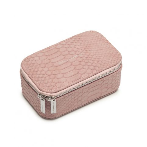 Blush Snakeskin Jewellery Box - Buy Online UK