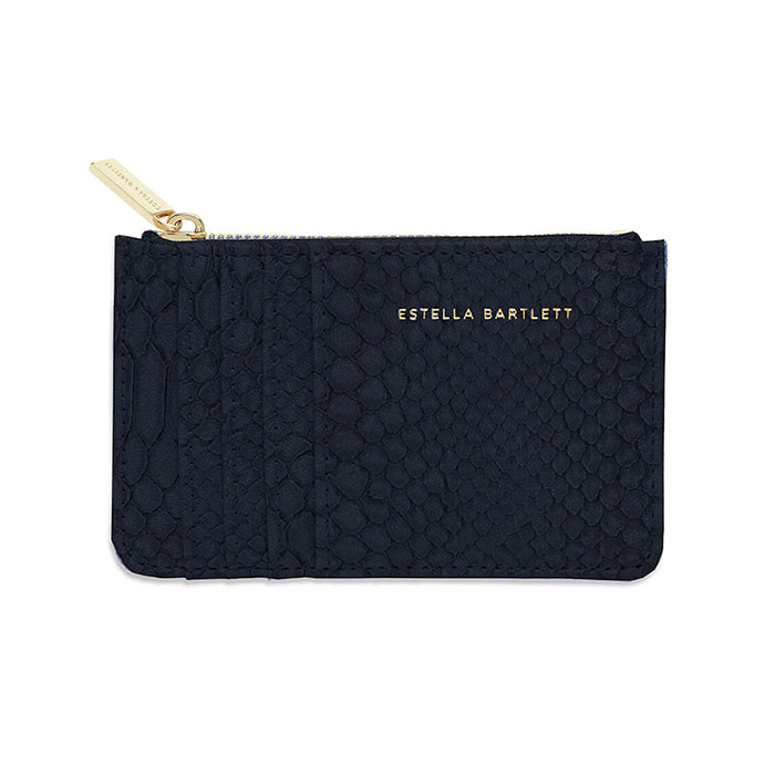 Estella Bartlett Black Snake Print Card Purse - Buy Online UK