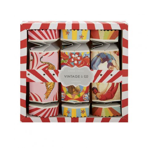 Vintage and Co Circus Cracker Hand Creams - Buy Online UK