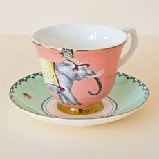 Carnival Elephant Teacup and Saucer - Buy Online UK