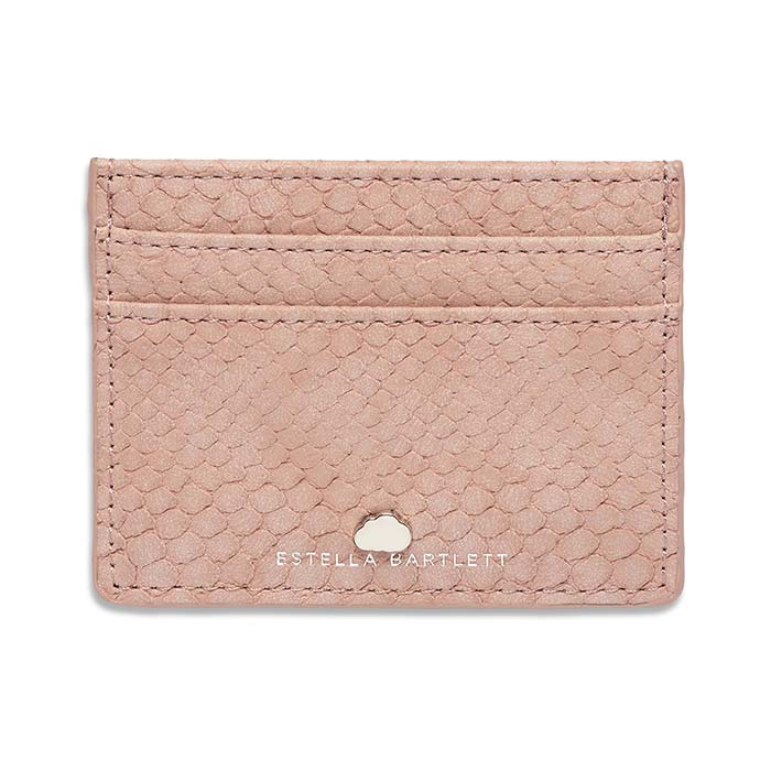 Estella Bartlett Blush Snake Effect Card Holder - Buy Online UK