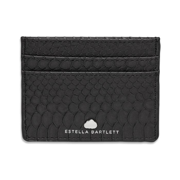 Estella Bartlett Black Snake Effect Card Holder