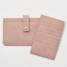 Estella Bartlett Blush Snake Print Travel Wallet - Buy Online UK