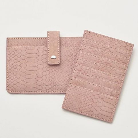 Estella Bartlett Blush Snake Print Travel Wallet - Buy Online UK