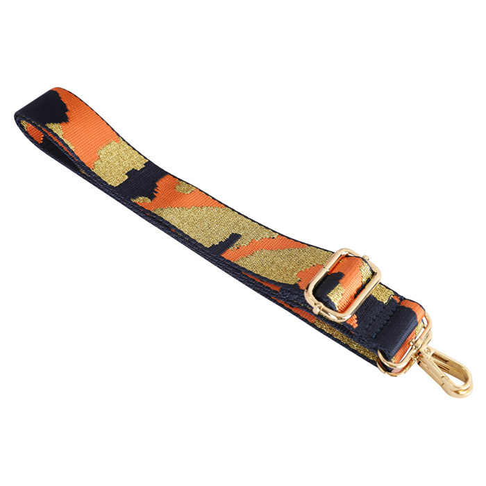 orange-gold-camouflage-strap-bag