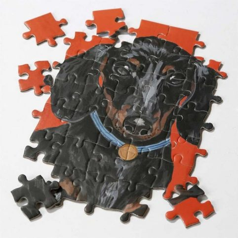 Sausage Dog Double Sided Puzzle - Buy Online UK