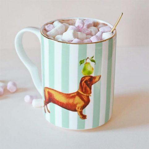 Yvonne Ellen Sausage Doggie Mug - buy Online UK
