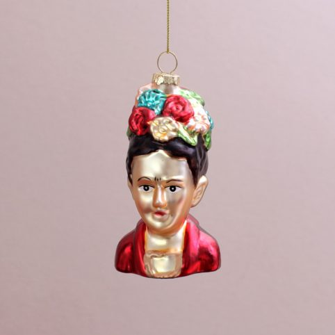 Frida Kahlo Bauble - Buy Online UK