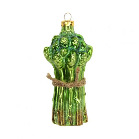 Gisela Graham Asparagus Glass Tree Decoration - Buy UK