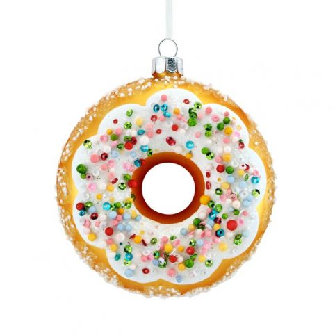 Gisela Graham Donut Christmas Decoration - Buy online UK