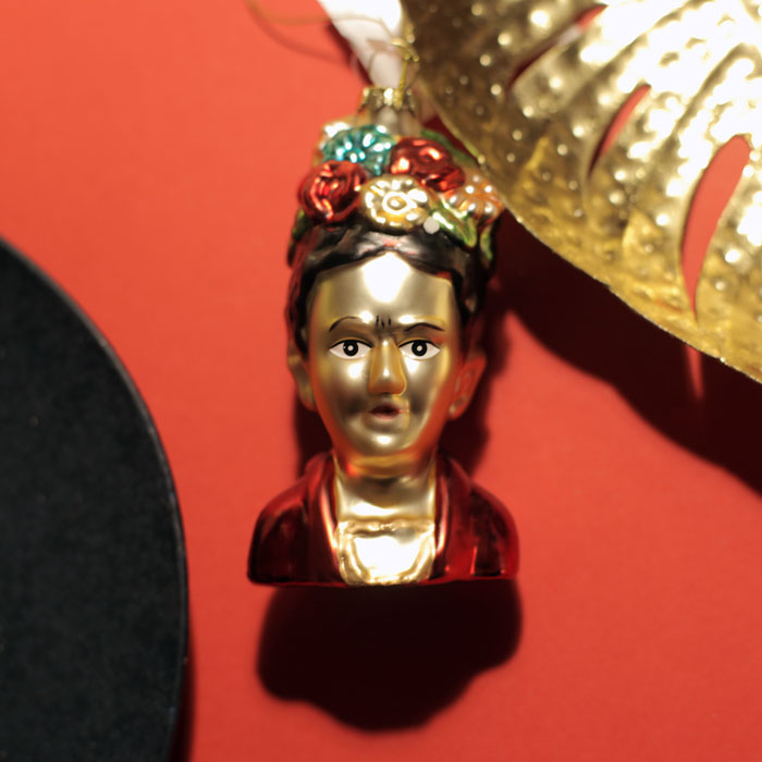 Frida Kahlo Christmas Bauble - Buy Online UK