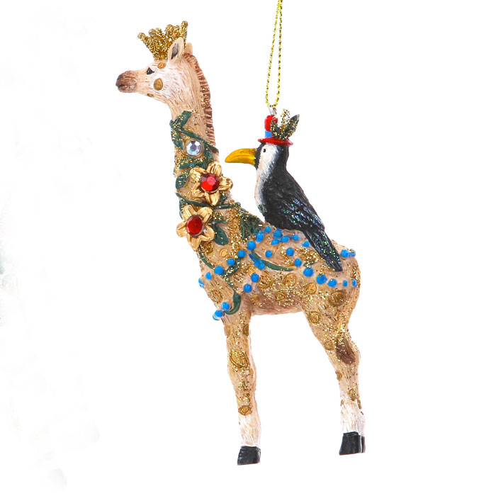 Gisela Graham Giraffe Christmas Ornament - Buy Online UK