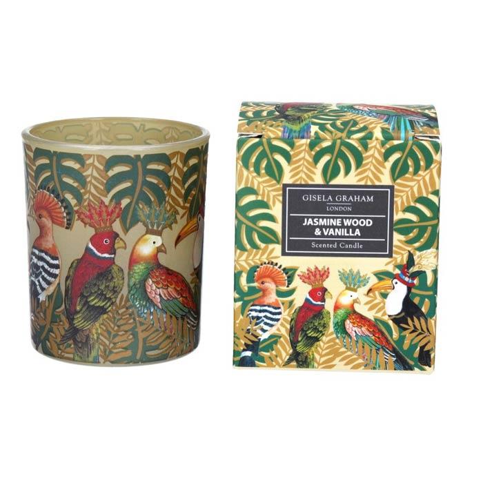 Jasmine Wood and Vanilla Scented Candle - Buy Online UK