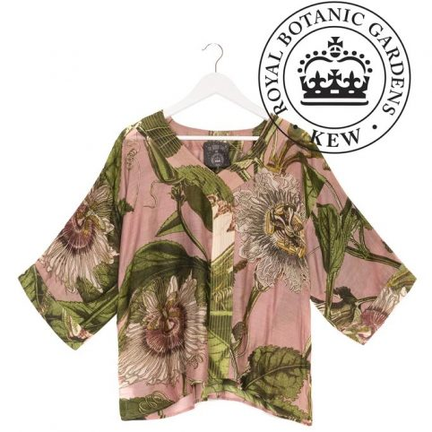 One Hundred Stars Passion Flower Pink Top - Buy Online UK