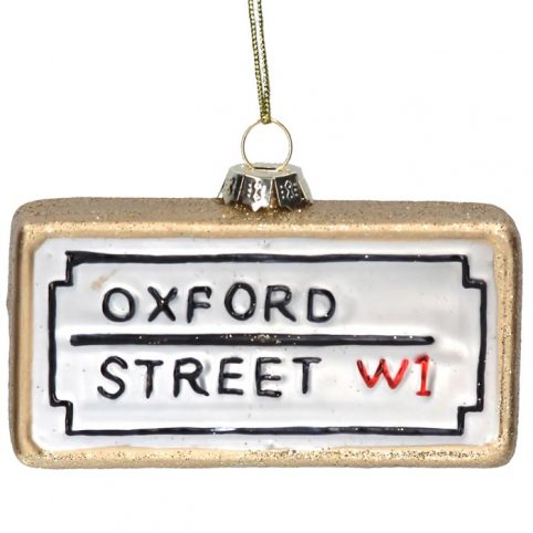 Oxford Street Christmas Tree Decoration - Buy online UK