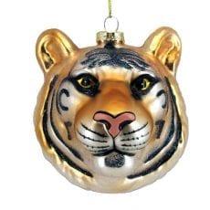 Tiger Head Bauble - Buy Online UK