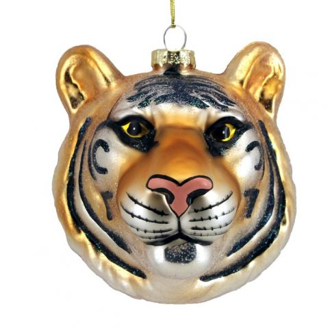 Tiger Head Bauble - Buy Online UK