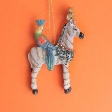 Christmas Zebra Tree Ornament - Buy Online UK