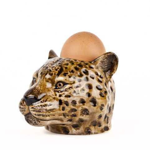 Leopard Egg Cup Quail Ceramics - Buy Online UK
