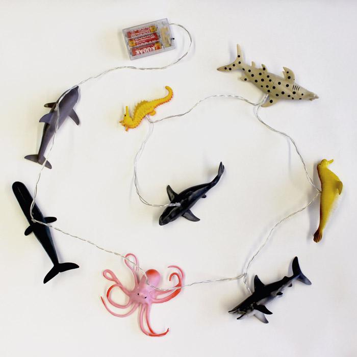 Sea Life Animals String Lights - Buy Online UK