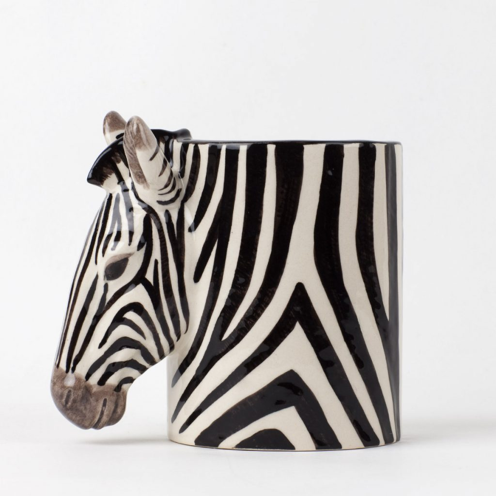 Quail Ceramics Zebra Pot - Buy online UK