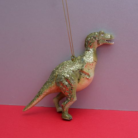 Dinosaur Christmas Bauble - Buy Online UK