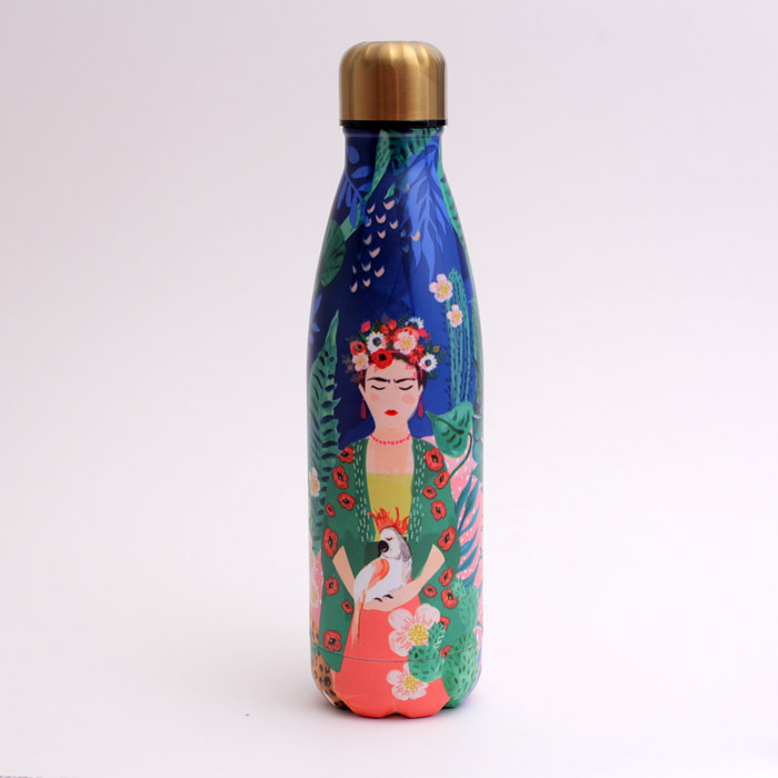 Frida Kahlo Stainless Steel Bottle - Buy Online UK