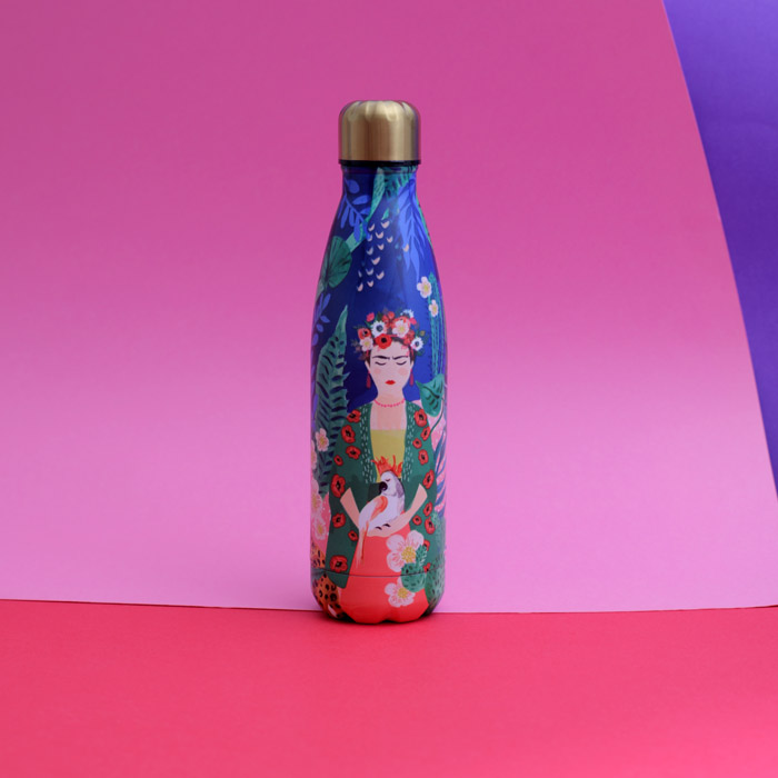 Frida Stainless Steel Water Bottle - Buy Online UK