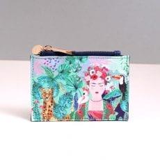 Zipped Coin and Card Holder - Frida Kahlo - Buy UK