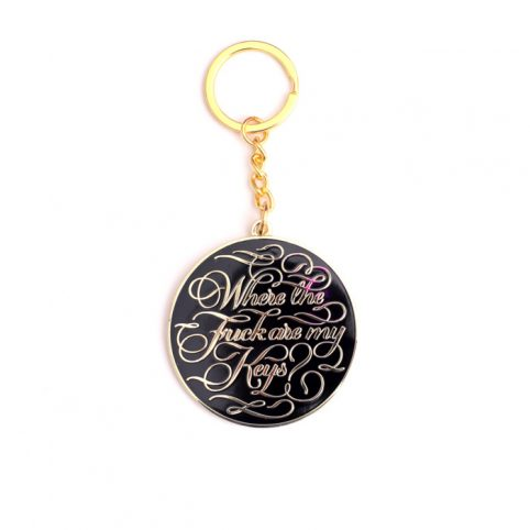 Where the Fuck are my Keys Keychain - Buy Online UK