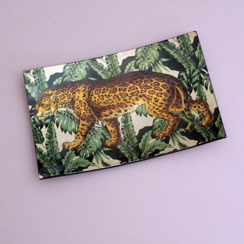 Leopard Dish Tray - Buy Online UK