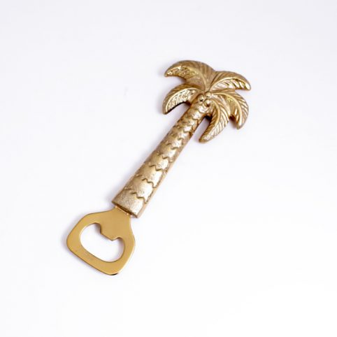 Gold Palm Tree Bottle Opener - Buy Online UK