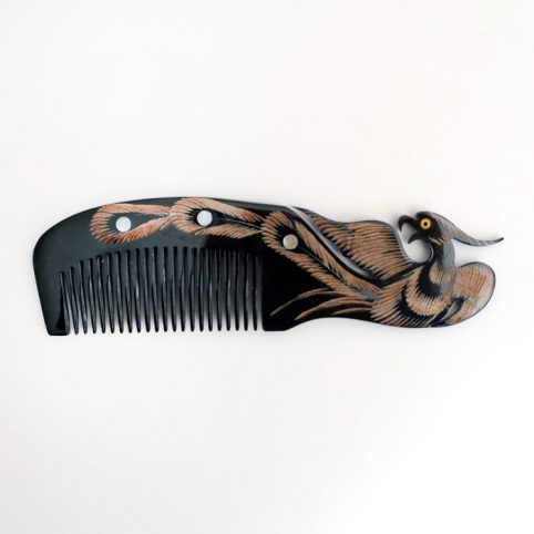 Buffalo Horn Hair Comb - Buy Online UK