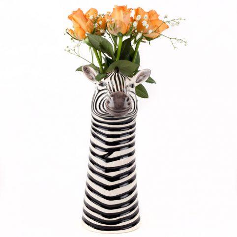 Quail Ceramics Zebra Vase - Buy Online UK