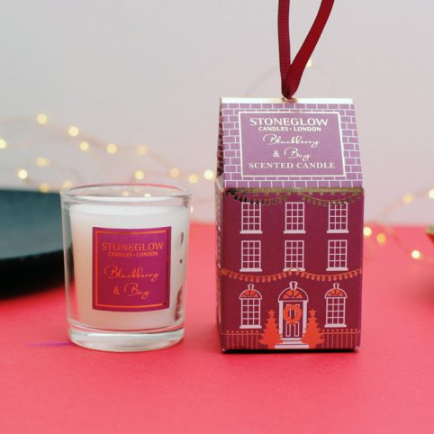 Festive Scented Candle - Blackberry Buy Online UK